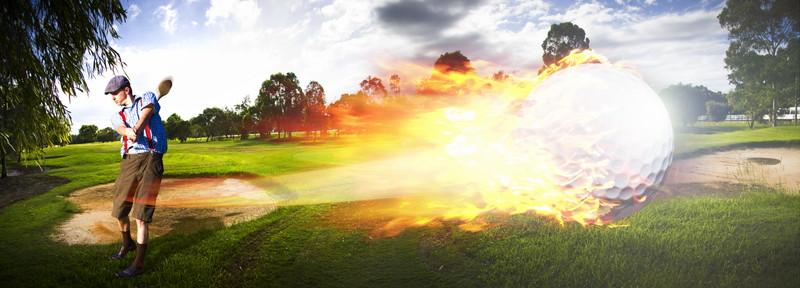 最高峰のゴルフツアー